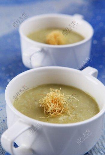 豌豆沙咸粥图片