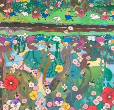抽象花瓣素材图片
