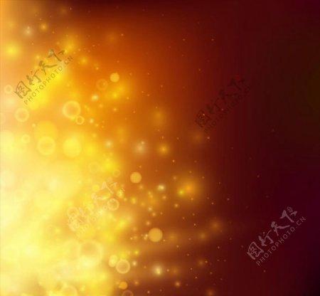 金色星光背景图片