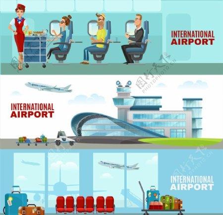机场的等候海报图片