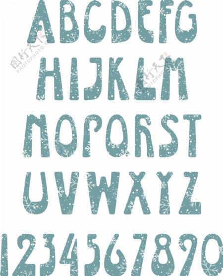 英文字母设计矢量图片