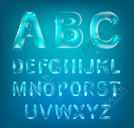 时尚英文字母图片