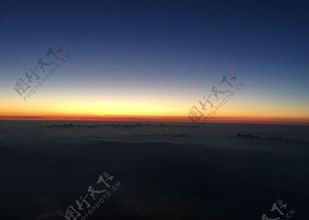 日本富士山日出图片