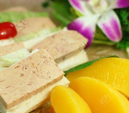 特色菜冰浸鹅肝图片