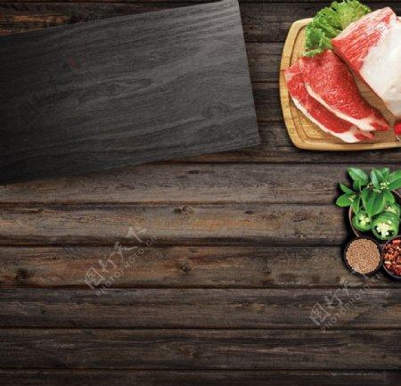 厨房刀具摆拍素材主图PSD分层图片