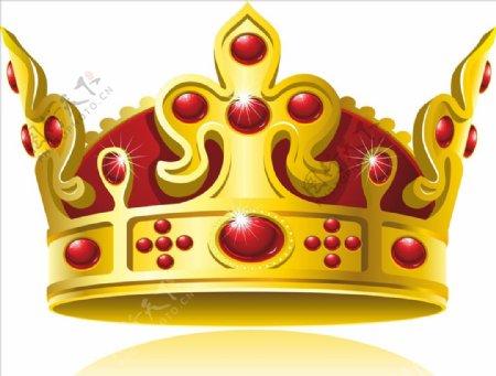皇冠王冠矢量图图片