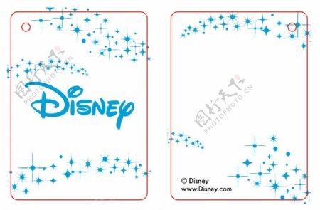 迪士尼disney吊牌图片