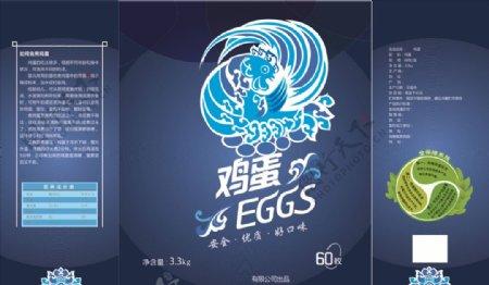 鸡蛋包装礼盒图片