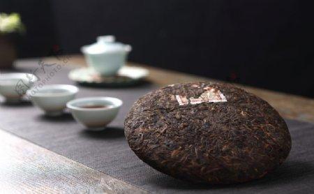 茶叶熟茶图片