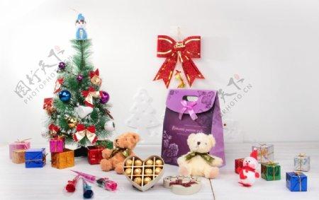 圣诞礼盒套装图片