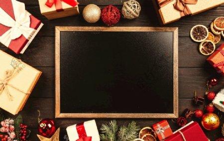 特写照片黑色板黑板盒子图片