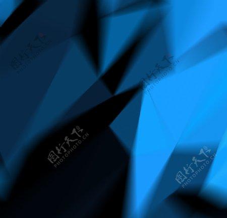 三角抽象背景图片