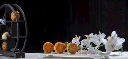 中秋月饼照片图片