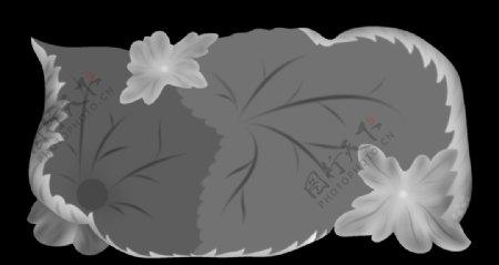 树叶茶盘图片