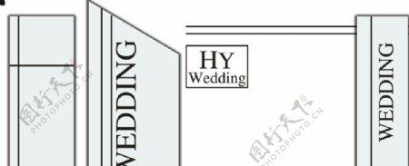 白色婚礼图片