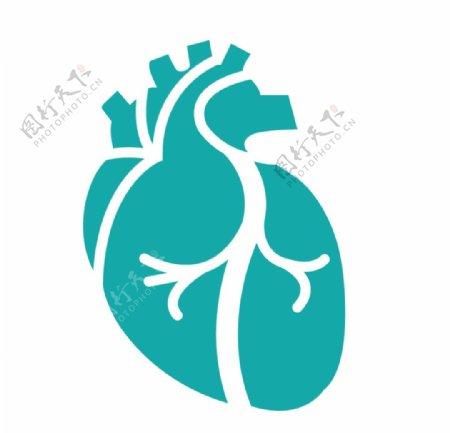 心脏心心跳心形ui心血图片