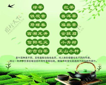 茶叶海报展板图片