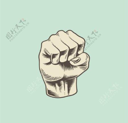 拳头重拳出击图片