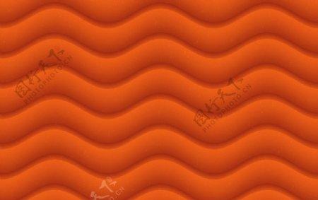 橙色波纹图片