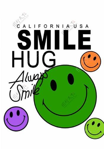 笑脸SMILE图片