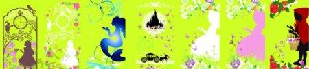 白雪公主爱丽系列图片