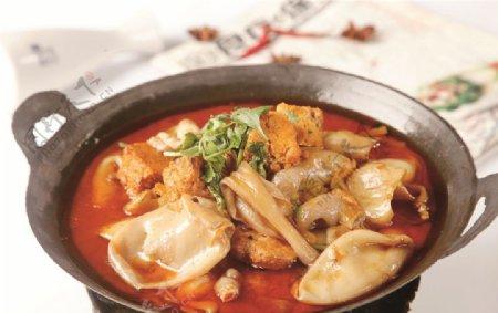 干锅鱼杂图片