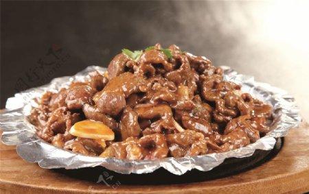 铁板黑椒羊肉图片