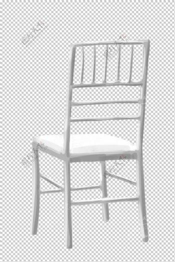 白色竹节椅图片