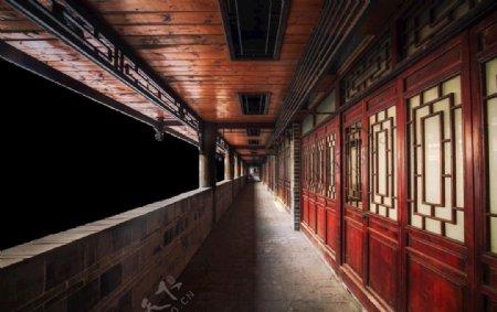 安乐府晴明自抠古风素材古建图片