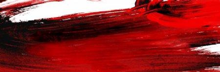 红色水墨底纹图片