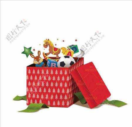 圣诞礼盒新年礼品小马玩具图片
