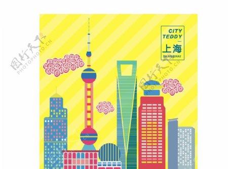 上海建筑手绘网络素材勿商用图片