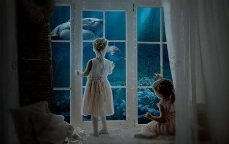海底世界合成图片