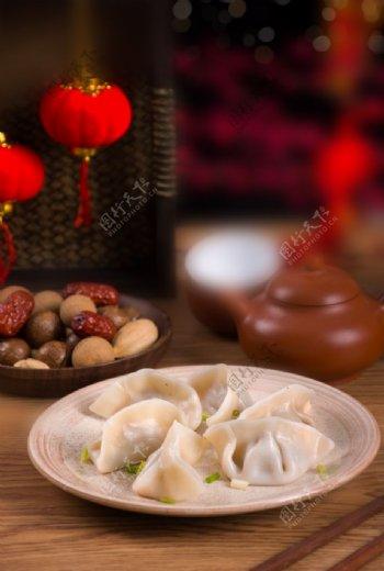 饺子背景图片