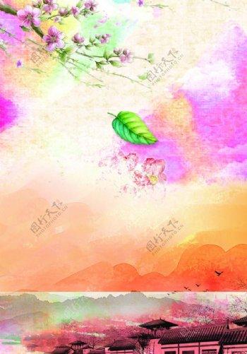 桃花素材图片