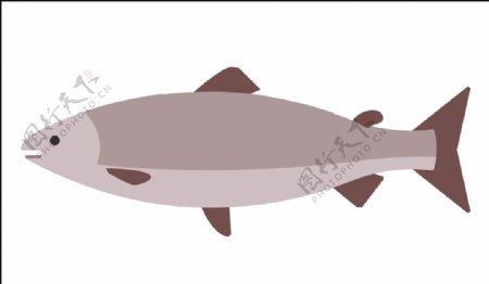 鱼矢量图片