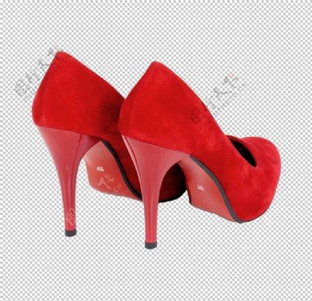 红色高跟鞋婚鞋女王三八妇女节素图片