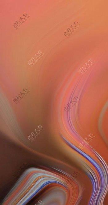 橙色背景图片