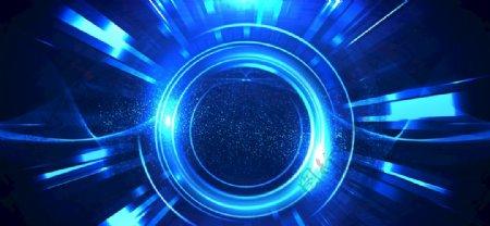 蓝色高清背景图片