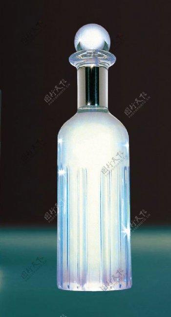 水晶瓶子素材图片
