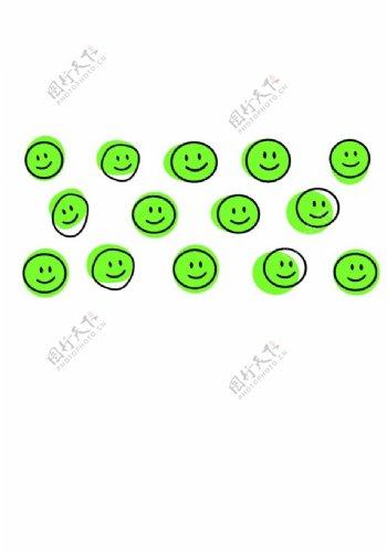 笑脸印花图片