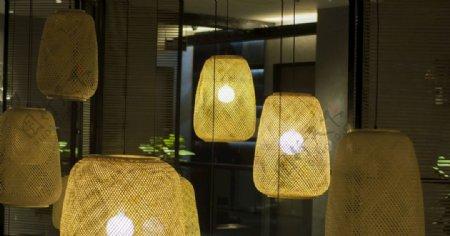复古日式灯笼图片