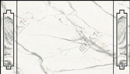 大理石纹框框背景墙图片