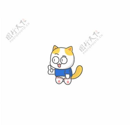 猫咪元素图片