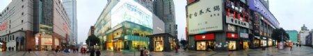 疫情下的春熙路东广场图片