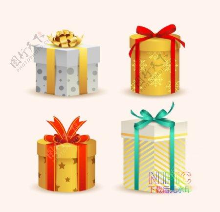 下载格式gift文件模板礼盒图片